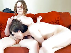 Sexy femboy couple love sex..