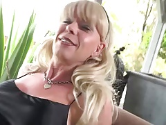 Joanna Jet Satin Lounging