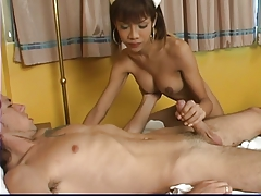 Tranny nurse gets fucked and..