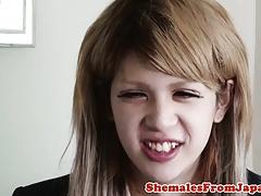 Ladyboy schoolgirl..